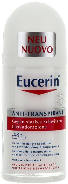 Deo Roll-on Antitranspirant - Eucerin Deodorant 48h Anti-Perspirant Roll-On — Bild N1