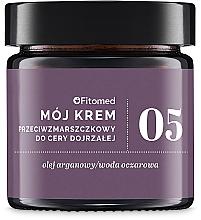 Düfte, Parfümerie und Kosmetik Anti-Falten Gesichtscreme mit Arganöl für trockene und reife Haut - Fitomed Anti-wrinkle Cream Nr5