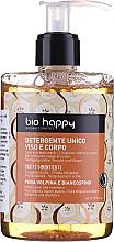 Düfte, Parfümerie und Kosmetik Reinigungsmittel für Gesicht und Körper - Bio Happy Volpina, Pear & Hawthorn Face & Body Wash