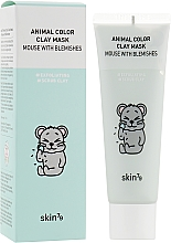Düfte, Parfümerie und Kosmetik Reinigende Gesichtsmaske mit Tonerde - Skin79 Animal Color Clay Mask Mouse With Blemishes