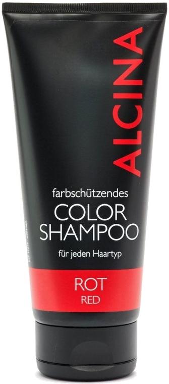 Farbschützendes Shampoo für alle Rottöne - Alcina Hair Care Color Shampoo