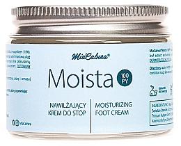 Düfte, Parfümerie und Kosmetik Feuchtigkeitsspendende Fußcreme - MiaCalnea Moisturizing Foot Cream