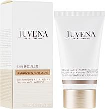 Düfte, Parfümerie und Kosmetik Regenerierende Anti-Aging Handcreme gegen Pigmentflecken - Juvena Skin Specialists Regenerating Hand Cream