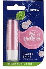 Düfte, Parfümerie und Kosmetik Lippenbalsam Pearly Shine - Nivea Lip Care Pearly Shine