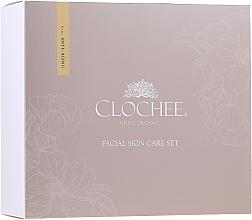 Düfte, Parfümerie und Kosmetik Gesichtspflegeset - Clochee (Tagescreme 50ml + Nachtcreme 50ml + Augenmaske 15ml)
