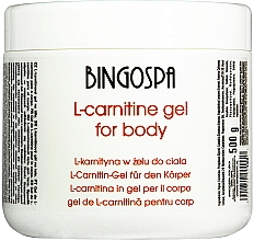 Körpergel zum Abnehmen mit L-Carnitin - BingoSpa L-Carnitine In The Gel — Bild N1