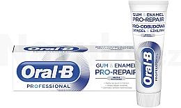 Düfte, Parfümerie und Kosmetik Zahnpasta - Oral-B Professional Gum & Enamel Pro-Repair Gentle Whitening