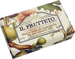 Düfte, Parfümerie und Kosmetik Naturseife Fig & Almond Milk - Nesti Dante Moisturizing & Soothing Soap Il Frutteto Collection
