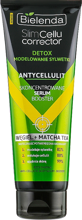 Anti-Cellulite Körperserum mit Matchatee - Bielenda Slim Cellu Corrector Detox Serum Booster