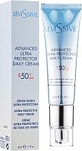 Düfte, Parfümerie und Kosmetik Sonnenschutzcreme für das Gesicht SPF 50+ - LeviSsime Advanced Ultra Protector Daily Cream SPF50
