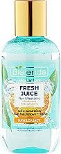 Düfte, Parfümerie und Kosmetik Mizellenwasser mit Orange - Bielenda Fresh Juice Micellar Water Orange