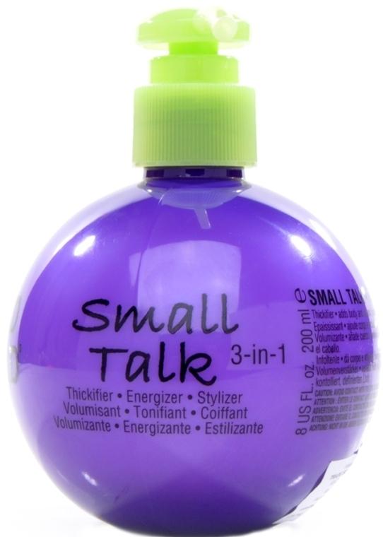 Pflegende Haarcreme für Volumen und Haarfülle - Tigi Bed Head Mini Small Talk 3-in-1 Thickifier — Bild N2