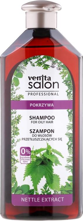 Brennnessel Shampoo für fettiges Haar - Venita Salon Professional Nettle Extract Shampoo