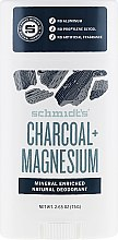Düfte, Parfümerie und Kosmetik Natürlicher Deostick - Schmidt's Deodorant Stick Charcoal & Magnesium