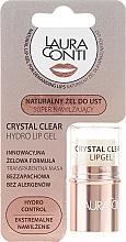 Düfte, Parfümerie und Kosmetik Feuchtigkeitsspendendes Lippengel - Laura Conti Crystal Clear Hydro Lip Gel