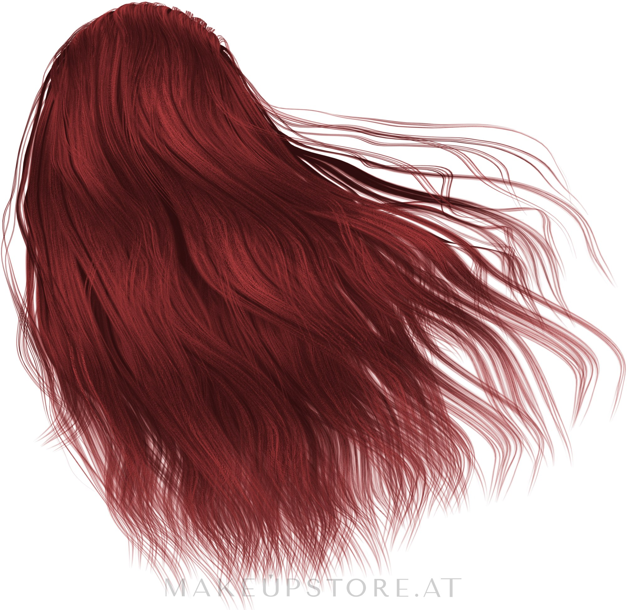Permanente Cremehaarfarbe ohne Ammoniak - L'Oreal Professionnel Inoa Carmilane — Bild C6.66 - Dark Deep Red Blonde