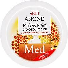 Düfte, Parfümerie und Kosmetik Familien-Universalcreme mit Honig - Bione Cosmetics Honey + Q10 Cream
