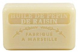 Düfte, Parfümerie und Kosmetik Marseiller Seife mit Traubenkernöl - Foufour Savonnette Marseillaise Huile de Pepin de Raisin