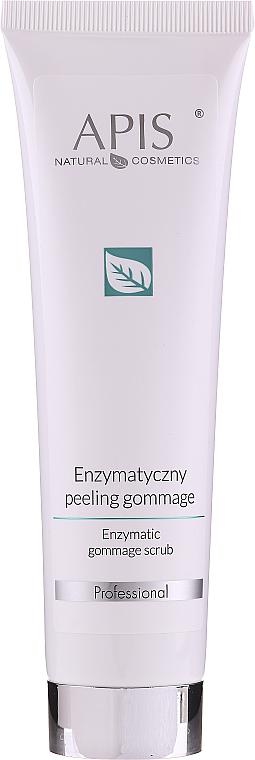 Gesichtspeeling mit Enzymen und D-Panthenol für normale und empfindliche Haut - Apis Professional Enzymatic Gommage Scrub