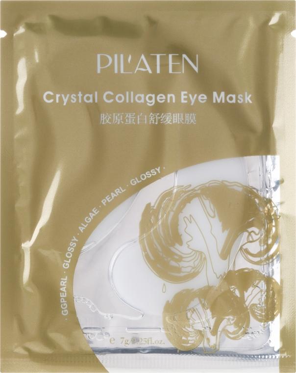 Algenmaske für die Augenpartie mit Kollagen - Pil'aten Crystal Collagen Eye Mask