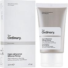 Düfte, Parfümerie und Kosmetik Mattierender und feuchtigkeitsspendender Gesichtsprimer - The Ordinary High-Adherence Silicone Primer