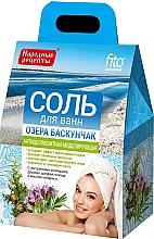 Düfte, Parfümerie und Kosmetik Anti-Cellulite Badesalz mit Rosmarin, Oregano, Salbei, Efeu und Zypressenöl - FitoKosmetik Anti-Cellulite Bath Salt Baskunchak Lake