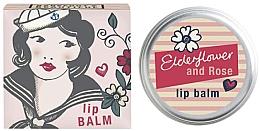 Düfte, Parfümerie und Kosmetik Lippenbalsam Holunder und Rose - Bath House Barefoot & Beautiful Elderflower & Rose Lip Balm