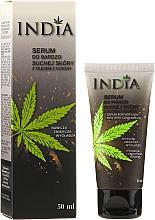 Düfte, Parfümerie und Kosmetik Feuchtigkeitsspendendes Gesichts- und Handserum für sehr trockene Haut mit Cannabisöl - India Serum For Very Dry Skin With Cannabis Oil