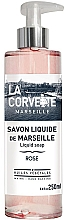 Düfte, Parfümerie und Kosmetik Flüssige Handseife Rose - La Corvette Rose Liquid Soap