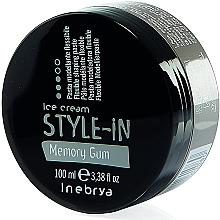 Düfte, Parfümerie und Kosmetik Flexible Modellierpaste - Inebrya Style-In Memory Gum Paste
