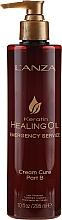 Düfte, Parfümerie und Kosmetik Ölbehandlung für brüchiges Haar mit Keratin und Peptiden - L'anza Keratin Healing Oil Emergency Service Cream Cure Part B