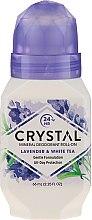 Düfte, Parfümerie und Kosmetik Deo Roll-on mit Lavendel- und Weißteeduft - Crystal Essence Deodorant Roll-On