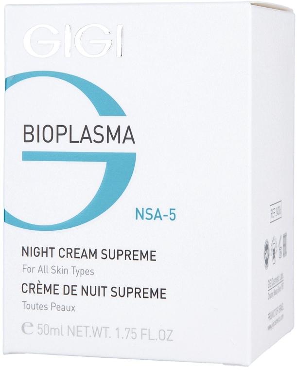 Pflegende Nachtcreme - Gigi Bioplasma Night Cream Supreme — Bild N3