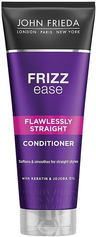 Glättende und feuchtigkeitsspendende Haarspülung mit Keratin - John Frieda Frizz-Ease Flawlessly Straight Conditioner