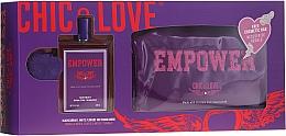 Düfte, Parfümerie und Kosmetik Chic&Love Empower - Duftset (Eau de Toilette 100ml + Kosmetiktasche)