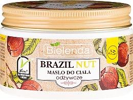 Düfte, Parfümerie und Kosmetik Nährende Körperbutter mit Paranuss - Bielenda Brazil Nut Body Butter
