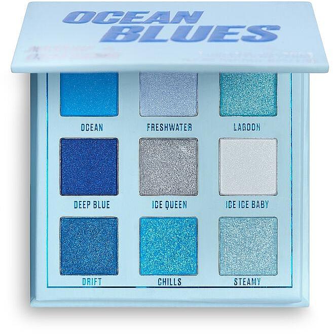 Lidschattenpalette - Makeup Obsession Ocean Blues Eyeshadow Palette