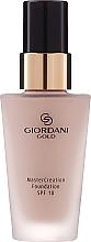 Düfte, Parfümerie und Kosmetik Foundation LSF 18 - Oriflame Giordani Gold MasterCreation Foundation SPF 18