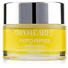 Düfte, Parfümerie und Kosmetik Straffende und stärkende Anti-Aging Creme für die Augenpartie mit Peptidkomlex und Ceramiden - APOT.CARE Phyto Peptide Eye Cream