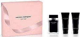 Düfte, Parfümerie und Kosmetik Narciso Rodriguez For Her - Duftset (Eau de Toilette 50ml + Körperlotion 75ml + Duschgel 75ml)