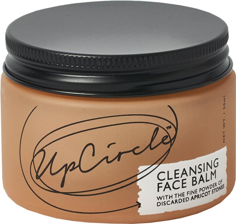 Gesichtsreinigungsbalsam mit Aprikosenpulver - UpCircle Cleansing Face Balm With Apricot Powder — Bild N1