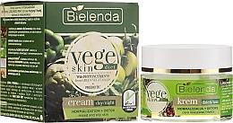Düfte, Parfümerie und Kosmetik Normalisierende Tages- und Nachtcreme für fettige und Mischhaut - Bielenda Vege Skin Diet