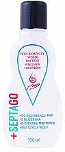 Düfte, Parfümerie und Kosmetik Antibakterielles Handfluid mit Minzduft und Glycerin - Septago Gel
