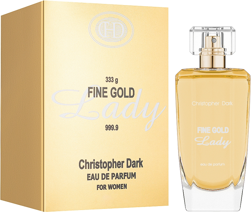 Christopher Dark Fine Gold Lady - Eau de Parfum — Bild N2