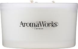 Düfte, Parfümerie und Kosmetik Duftkerze im Glas mit 3 Dochten Heiterkeit - AromaWorks Serenity Candle 3-wick