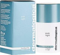 Düfte, Parfümerie und Kosmetik Aufhellende und feuchtigkeitsspendende Nachtcreme - Dermalogica PowerBright TRx Pure Night