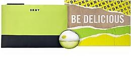 Düfte, Parfümerie und Kosmetik DKNY Be Delicious - Duftset (Eau de Parfum 30ml + Kosmetiktasche)