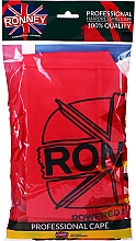 Düfte, Parfümerie und Kosmetik Friseurumhang rot - Ronney Professional Hairdressing Cape One Size