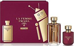 Düfte, Parfümerie und Kosmetik Prada La Femme Intense - Duftset (Eau de Parfum 100ml + Körperlotion 100ml)
