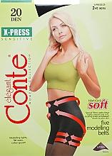 Düfte, Parfümerie und Kosmetik Strumpfhose für Damen X-Press 20 Den Nero - Conte